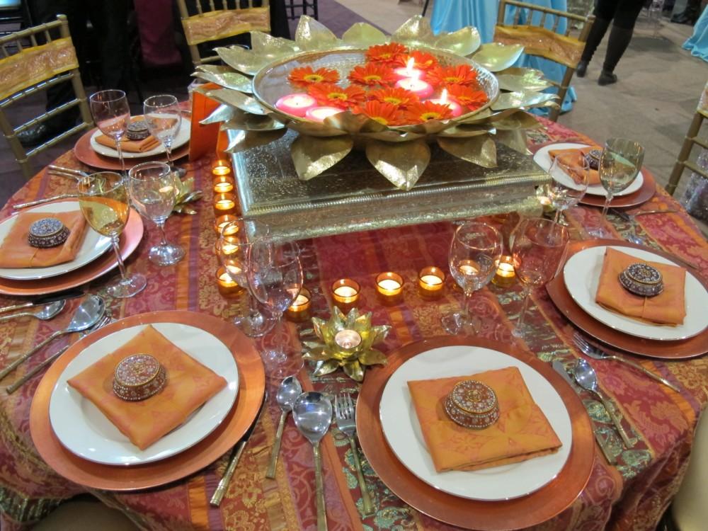 Сервировка стола в восточном стиле