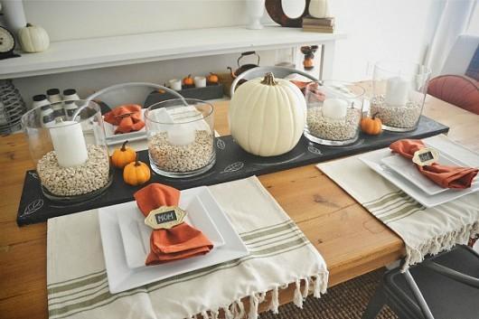 Сервировка стола для семьи