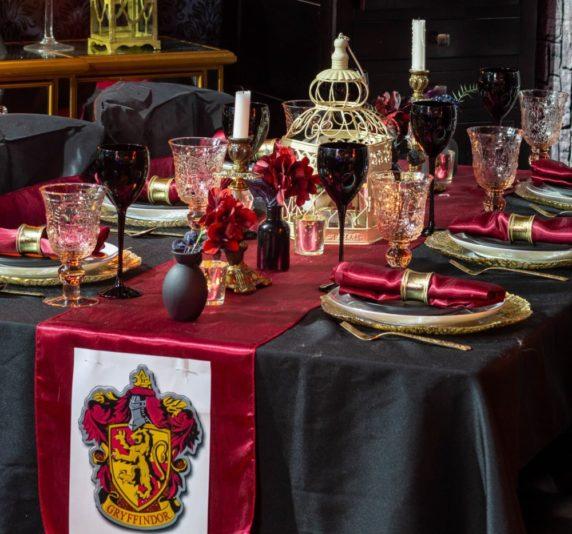Сервировка стола в стиле гарри поттера