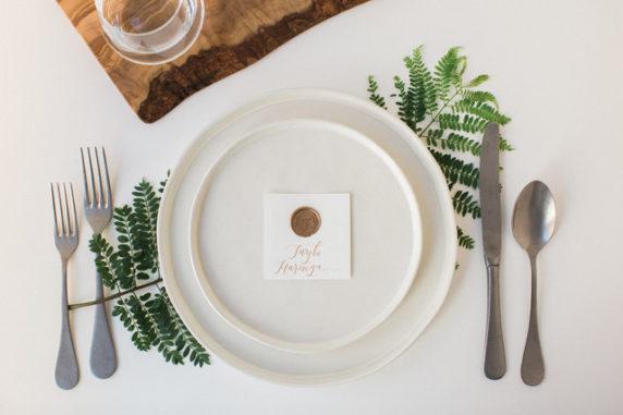 Сервировка стола экологичная