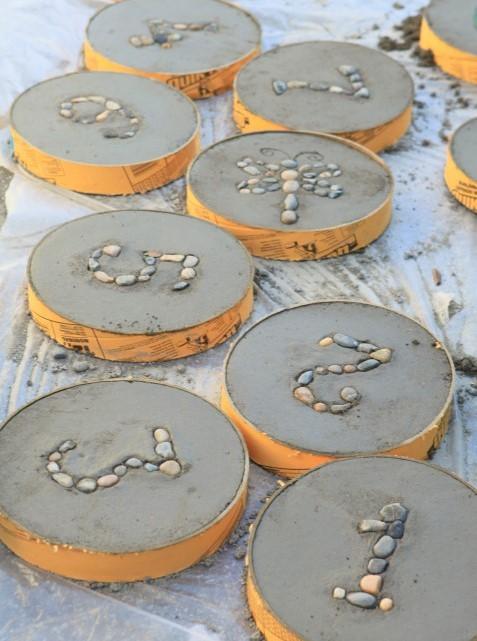 Самодельные садовые поделки из бетона