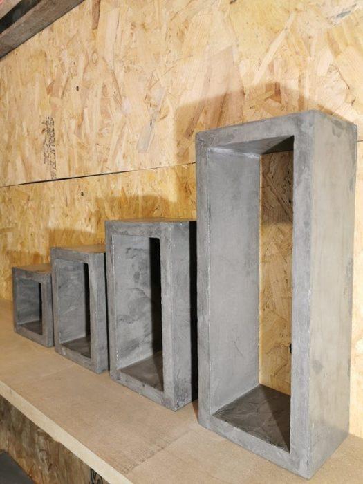 Полка из бетона своими руками
