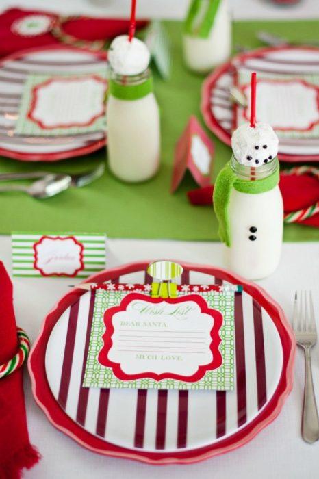 Детская красивая сервировка стола