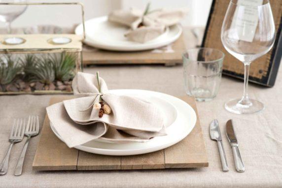 Индивидуальные салфетки для сервировки стола