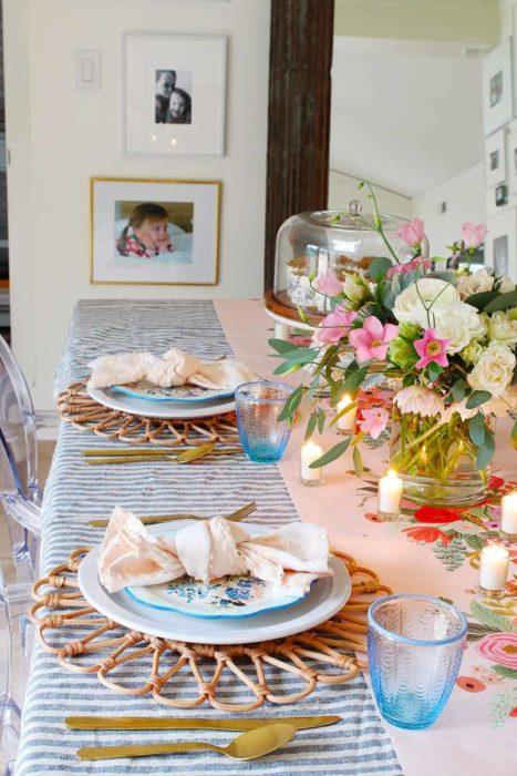 Повседневная сервировка стола для дома