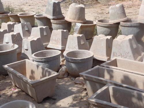 Цементные вазоны для дачи