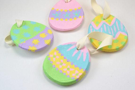 Яйца на пасху из полимерной глины