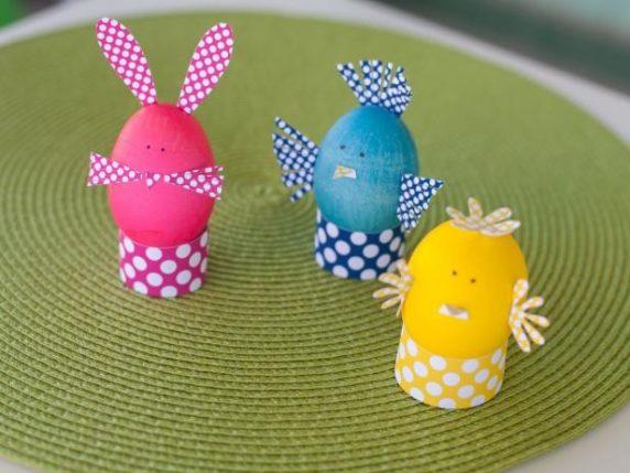 Подставки для пасхальных яиц своими руками из картона