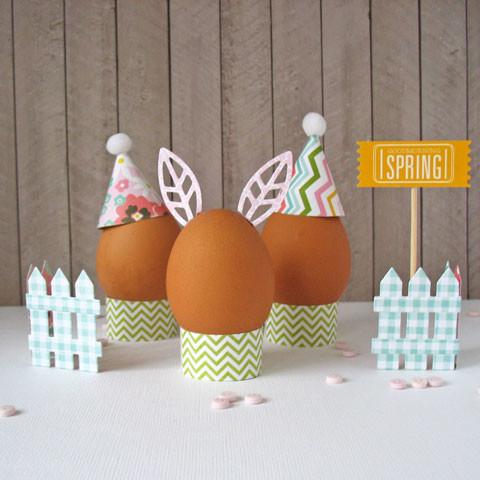 Подставки для пасхальных яиц своими руками из бумаги