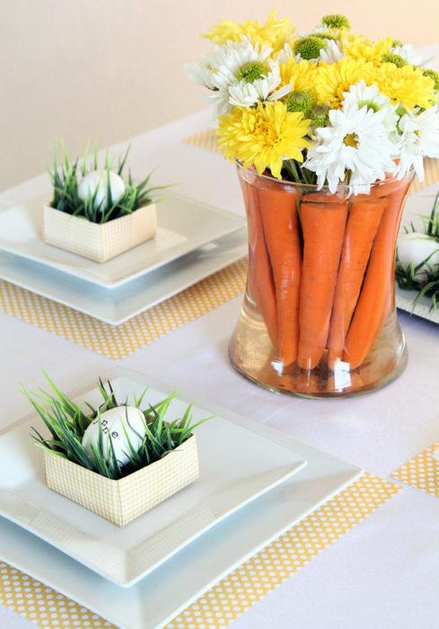 Морковь для пасхальных поделок своими руками
