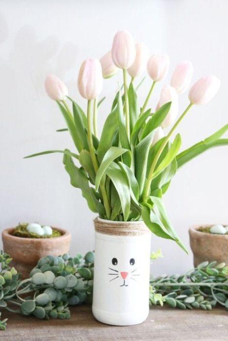 Горшок для цветов на Пасху своими руками