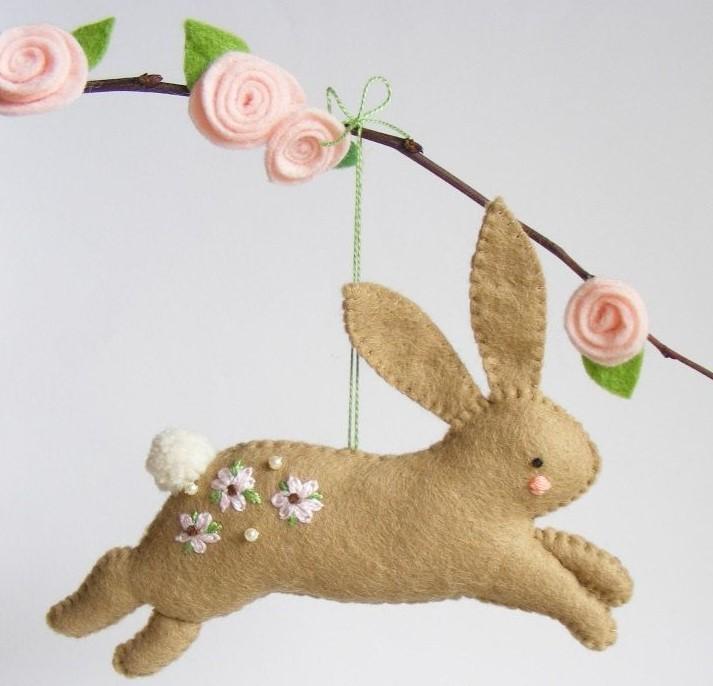 Кролик на Пасху своими руками