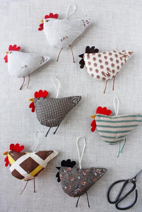 Курица на пасху своими руками из ткани