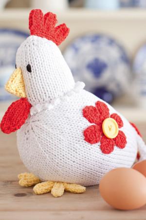 Курица на Пасху спицами