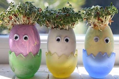 Пасхальные поделки из яиц своими руками