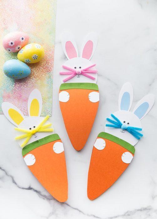 Пасхальная морковка своими руками
