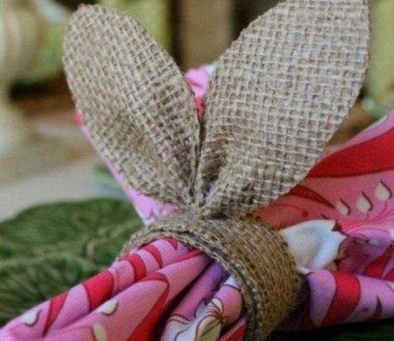 Пасхальные уши кролика своими руками