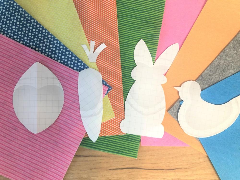 Пасхальные игрушки из фетра своими руками