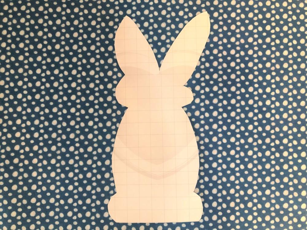 Шаблон для кролика из фетра