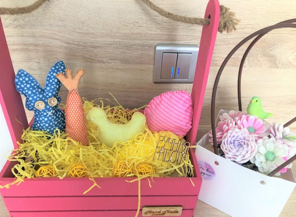 Самодельные игрушки из фетра в пасхе