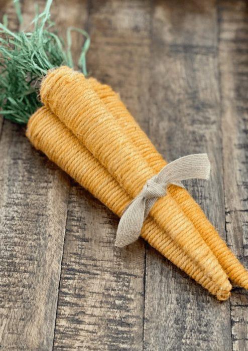 Морковь на пасху для декора своими руками