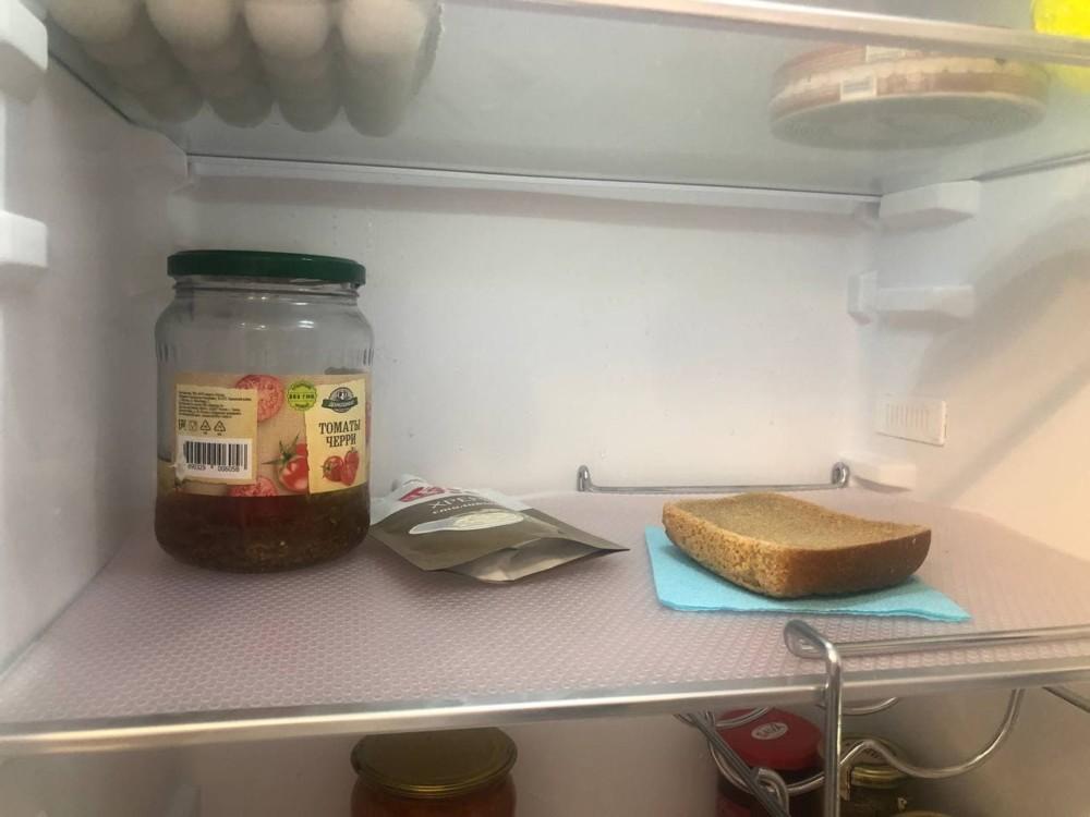 Корка хлеба от запаха в холодильнике