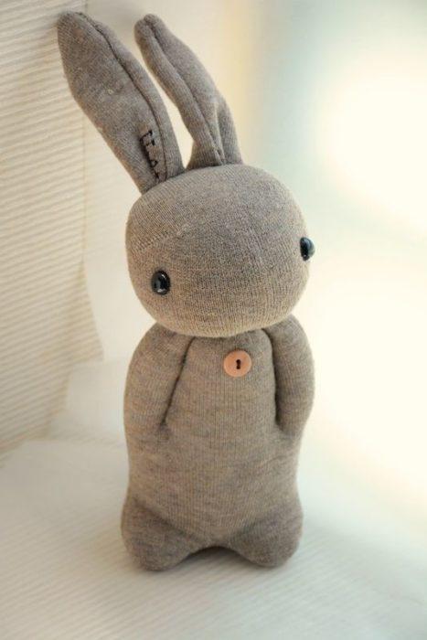 Заяц из носка своими руками