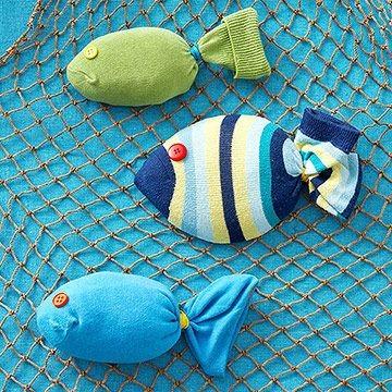 Рыба из носка