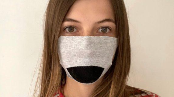 Медицинская маска из носка своими руками