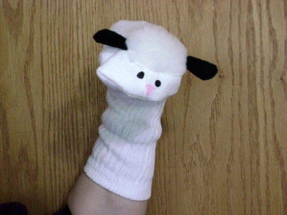 Тряпичная кукла из носка