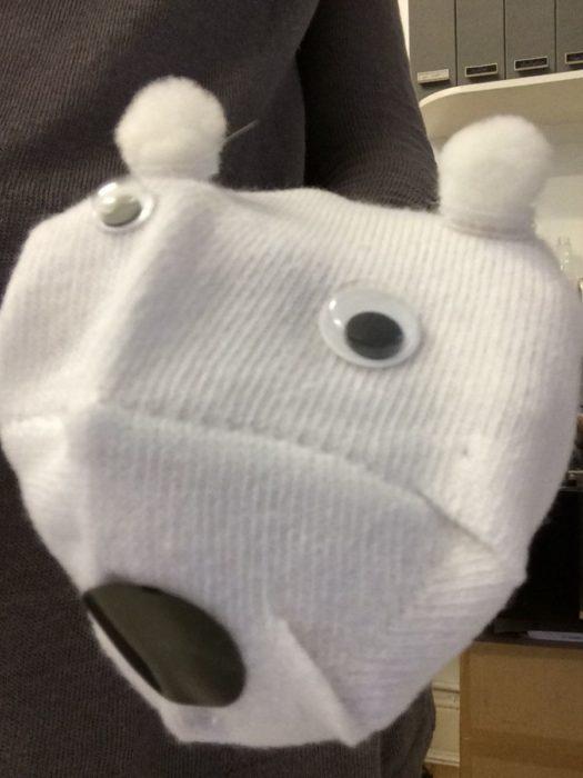 Тряпичная кукла из носка своими руками