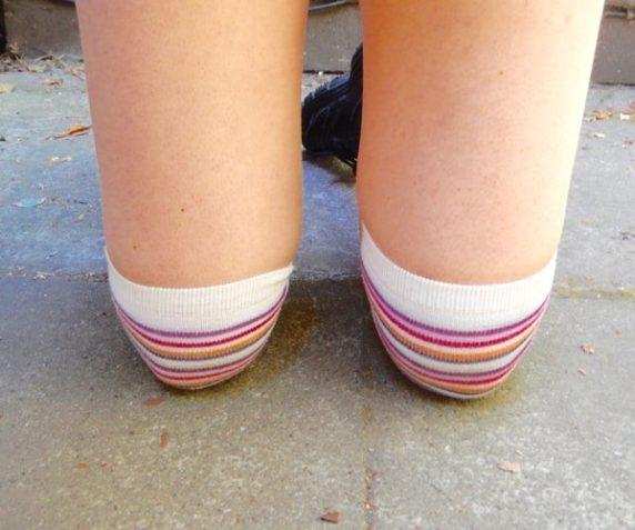 Наколенники из носков