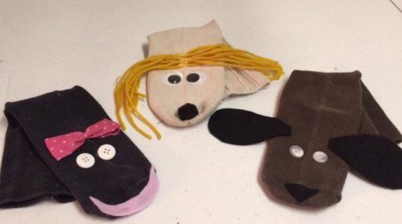 Кукольный театр из носков