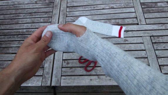 Перчатки из носков своими руками