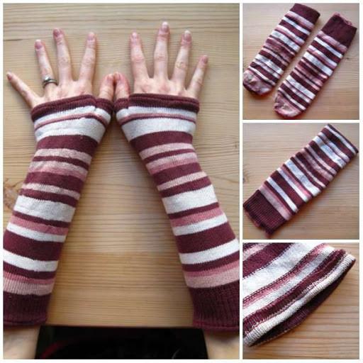 Перчатки из носков