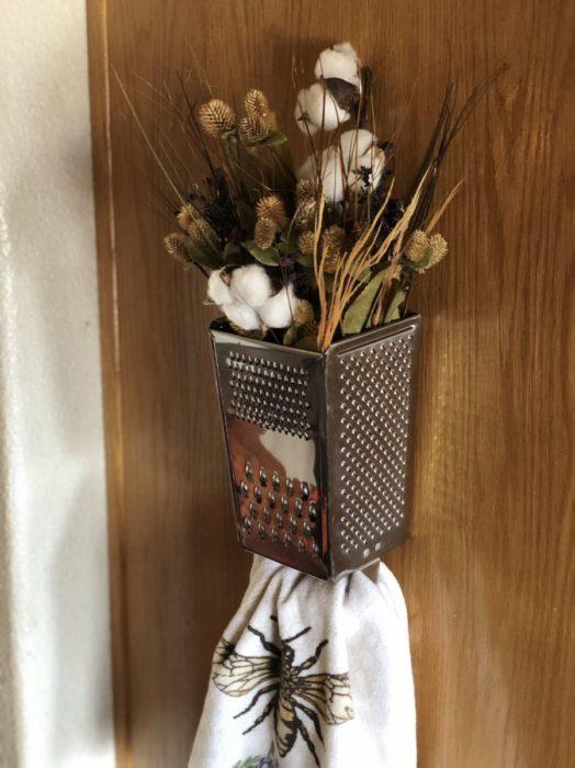 Сухоцветы в терке