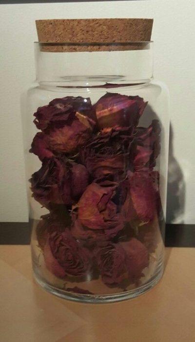 Розы как сухоцвет