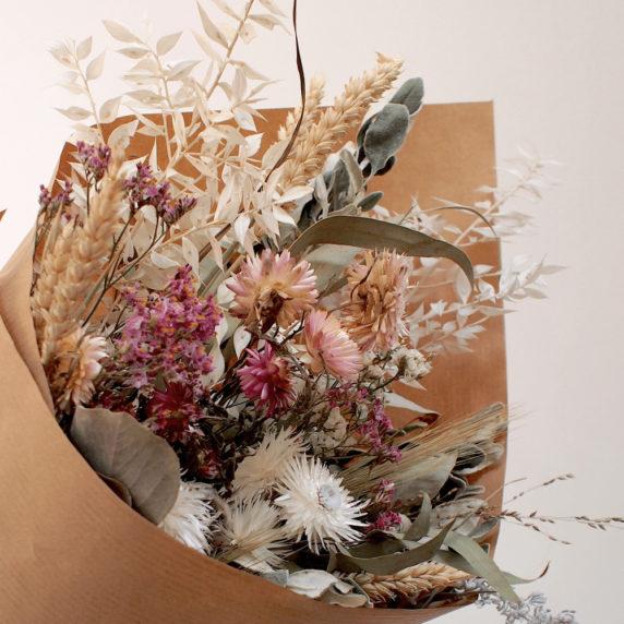 Букет из сухих цветов своими руками