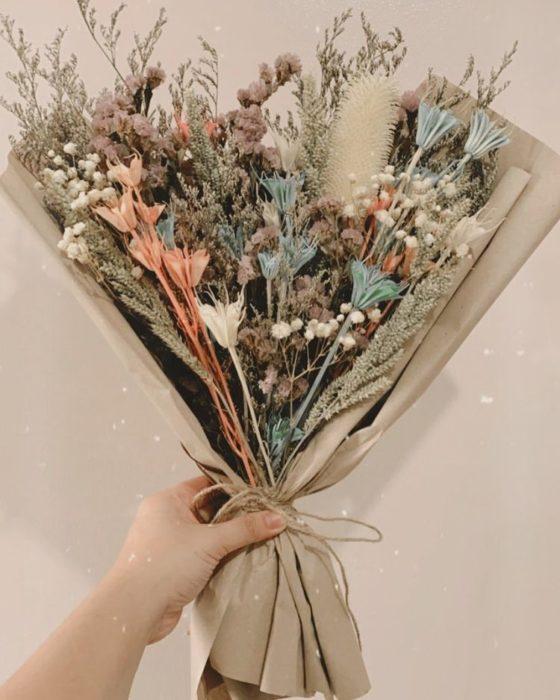 Сухоцветы для интерьера