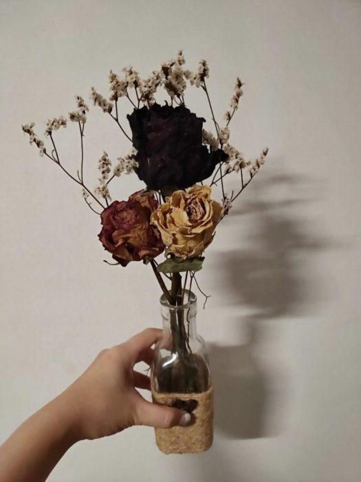 Сухие розы своими руками