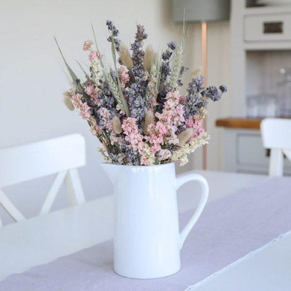 Яркие сухоцветы для квартиры