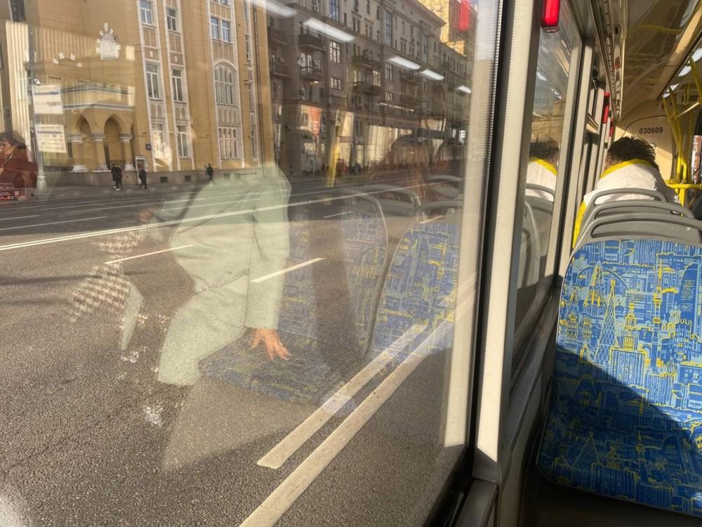 Бесплатный автобус до рынка цветов на Рижской