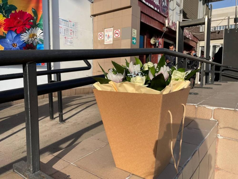 Цены на цветы на Рижском рынке