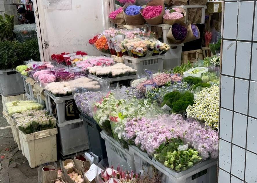 Обзор цветочного рынка на Рижской